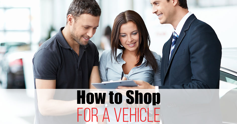 How to Shop for a Vehicle